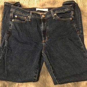 Gap true skinny hi rise jeans size 30R